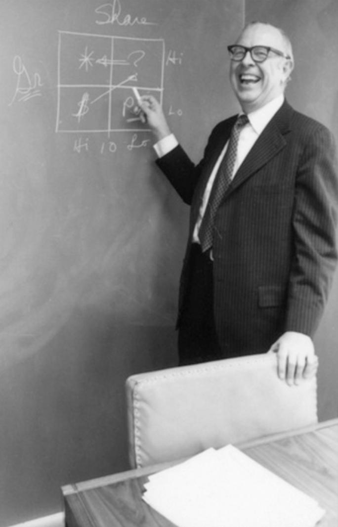 ▲布鲁斯·亨德森智库(Bruce Henderson Institute) 波士顿咨询公司创始人-当代金融家